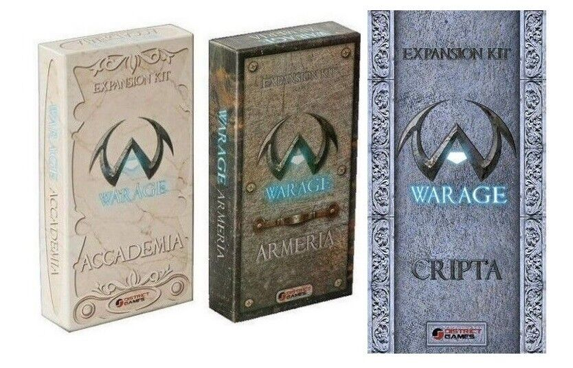 BUNDLE Warage, Expansions Crypt, Accademia, Armeria, Nuove, Italiano