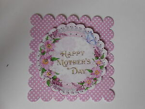 PK 2 BEAUTIFUL FLOWERS FOR MOTHERS DAY EMBELLISHMENT TOPPERS FOR CARDS//CRAFT