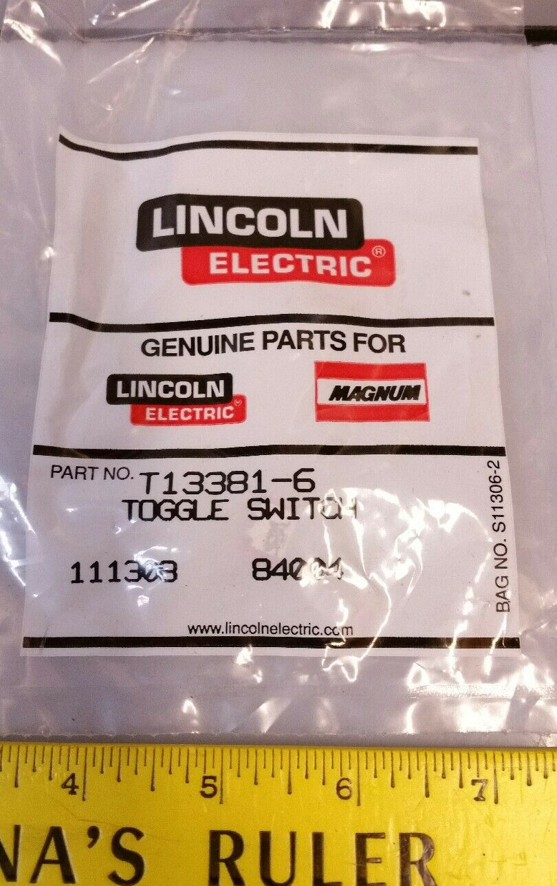 Lincoln Electric Toggle Switch Pn T13381 3 Ebay Welder And Generator Parts Norton Secured Powered By Verisign