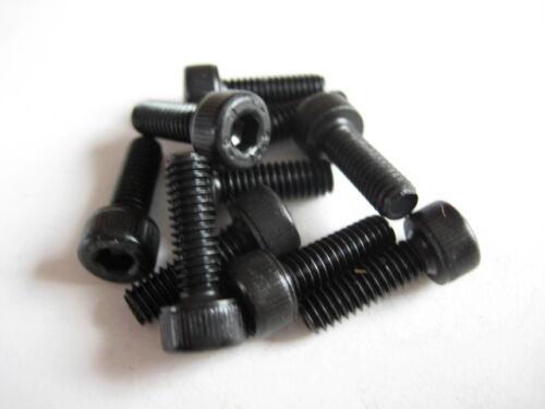 10x Stahl Zylinderkopf-Schraube M4x12 DIN912 12.9 Zylinder-Schrauben