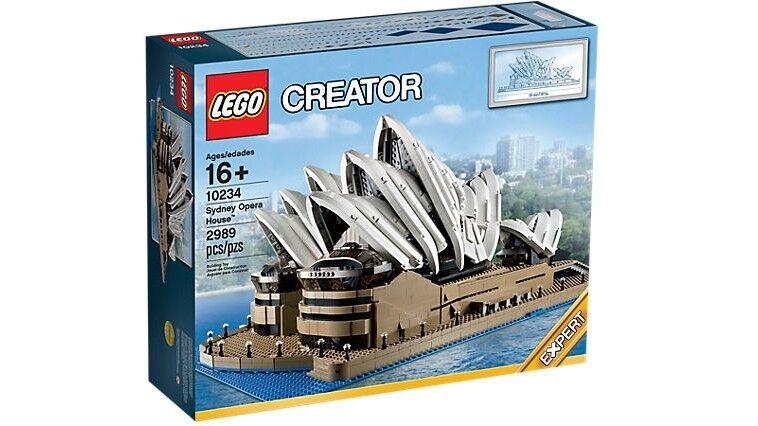 LEGO Creator Sydney Opera House 10234-Pensionato-Sigillato  Nuovo di Zecca &  migliore offerta