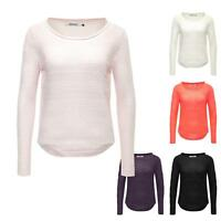 Only Damen Strickpullover Strick Pulli Pullover Jumper Sweater Color Mix SALE  %