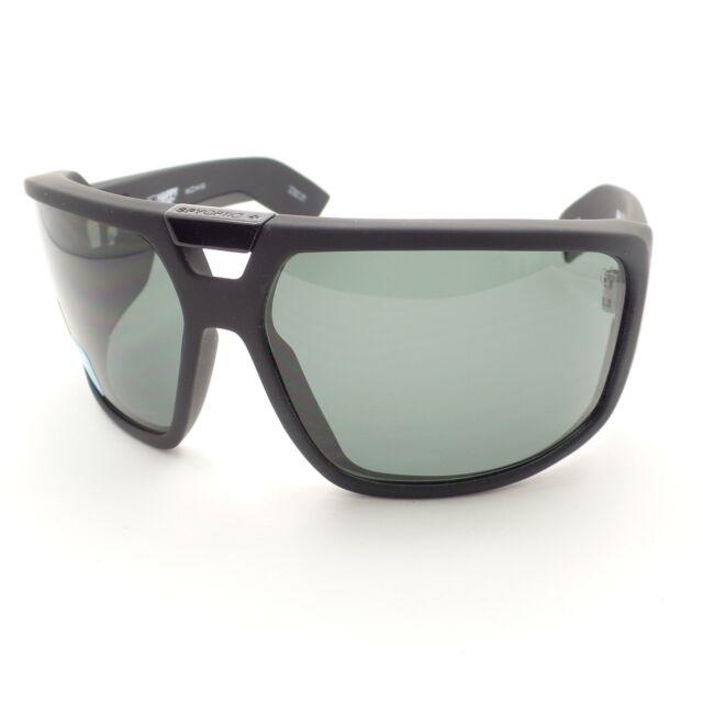 64b0cbbc5b Spy Optics Touring Matte Black Happy Gray Green New Sunglasses Authentic