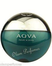 Bvlgari Aqva (Aqua) Pour Homme Eau de Toilette Spray 5.0oz 150ml New * Original