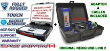 Diesel Diagnostic Scanner Tool Injectors Test Volvo Detroit Mack Nexiq Laptop