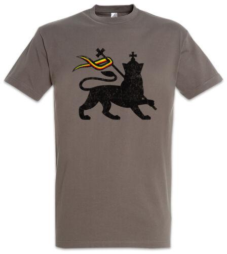 LION OF JUDAH I T-SHIRT Bob Rasta Reggae Marley Jamaika Rastafari Irie Ska Löwe