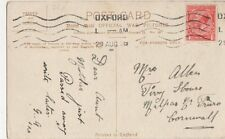 Miss Mossop, 8 Bank Terrace, Lindal in Furness 1912 Postcard, B180
