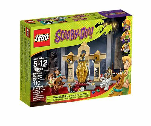 LEGO ® Scooby-Doo 75900 Mummy museo Mystery NUOVO OVP NEW MISB NRFB