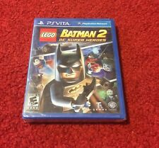 LEGO Batman 2: DC Super Heroes (PS Vita) Brand New