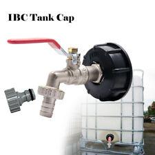 """Regenwasser Tank IBC Adapter mit 3//4/"""" Auslaufhahn 1000l Wassertank Anschluss"""