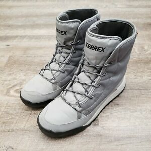 adidas Terrex Choleah Padded CP Women's Winter Boots Size 9 Gray