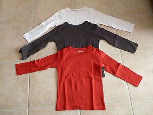 Lot-de-3-tee-shirt-polo-manches-longues-unis-6-ans