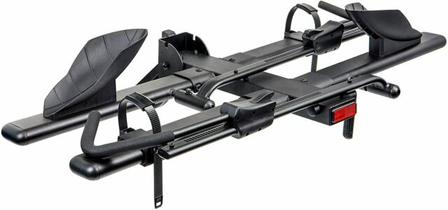 KAC Hitch Mount 2-Bike Rack Bicycle Carrier - Front Clamping, Platform Style
