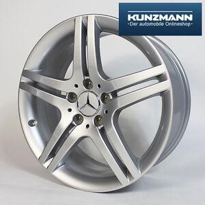 Original-Mercedes-Benz-18-Zoll-Felge-W203-W209-R171-CLC-CLK-SLK-silber-NEU