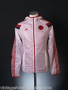 2014-15 Ac Milan Adidas himno walk-out Lejos Chaqueta Superior ... 90e36f5cf3795