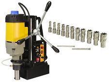 Steel Dragon Tools Md50 Magnetic Drill Press With 13pc 1 Hss Cutter Kit