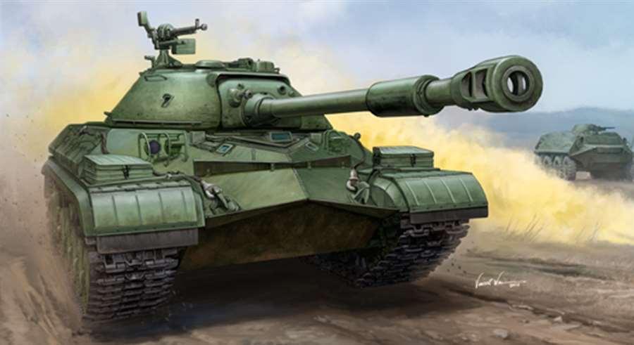 05547 Trumpeter 1 35 Model Soviet T-10A Heavy Tank Armored Car Plastic Kit DIY