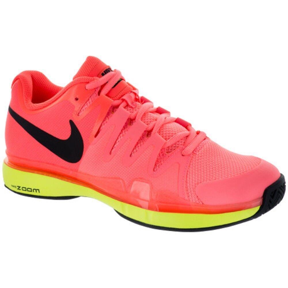 Nuevo Para Mujer Nike Vapor Tour 9.5 (Hypr Orng Orng Orng Negro Volt Zapatos Tenis). 631475-801  comprar marca
