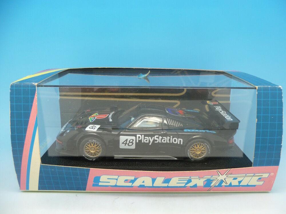 Scalextric C2191 Porsche 911 GT1 play station, mint unused