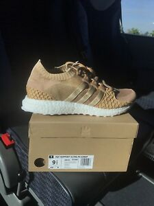 Signed by Pusha T Adidas EQT SUPPORT ULTRA PK KING PUSH BROWN PAPER ... fcb4b9a7d