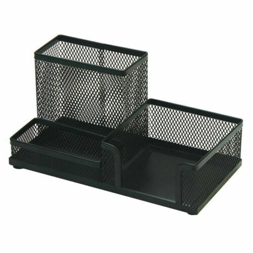 Schreibtisch Stiftehalter Briefpapier  Aufbewahrung Organizer Box Eisen Super