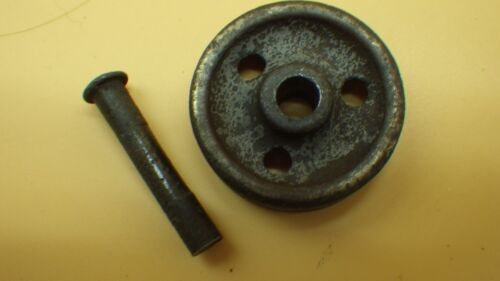 """Antique 5//16/"""" Treadle Sewing Machine 3 Hole Caster Wheel w// Pin"""