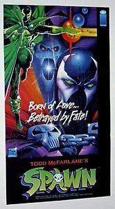 Original-1992-Spawn-Image-Comics-comic-book-promo-poster-1-1990-039-s-McFarlane-art