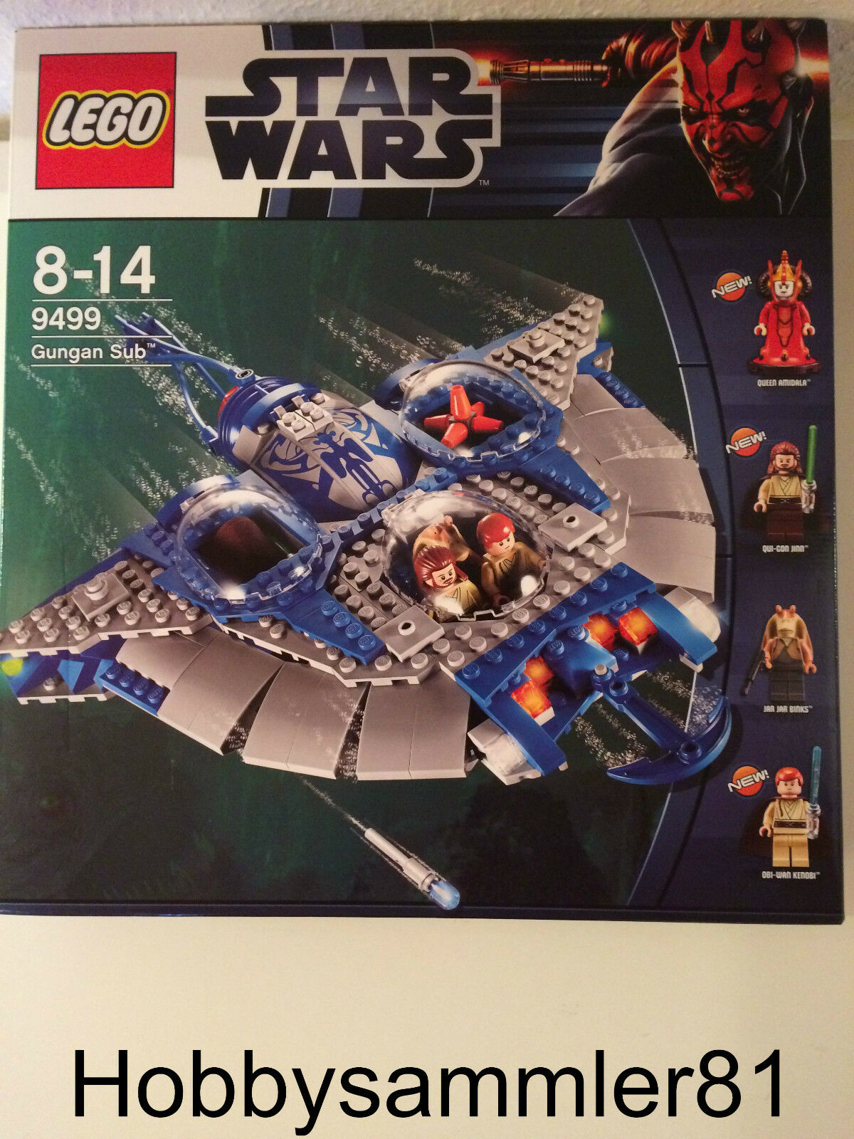 Lego® 9499 Star Wars Wars Wars Gungan Sub   Neu und Ovp 81a7ce