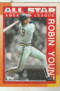 FREE-SHIPPING-MINT-1990-Topps-389-Robin-Yount-Brewers-PLUS-BONUS-CARDS
