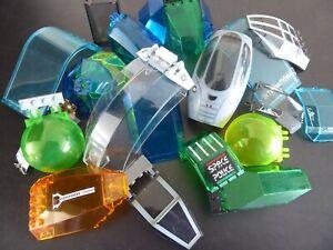Lego-30-Windschutzscheiben-Fenster-Cockpit-Frontscheibe-Kuppel-Fahrzeug-Auto