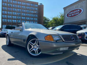 1991 Mercedes-Benz SL COUPE | CONVERTIBLE |RED LEATHER | MINT CONDITION