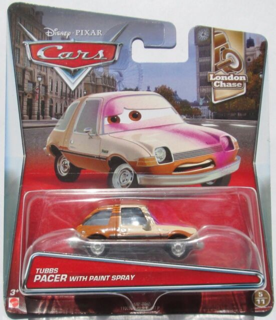 VOITURE DISNEY PIXAR TUBBS PACER WITH PAINT SPRAY