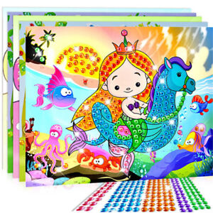 5D-Diamond-Embroidery-Kids-Painting-Kit-Mosaic-Learning-Puzzles-Cartoon-Gift-YNW