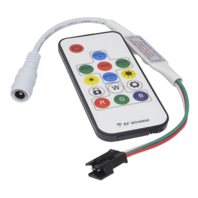 GGD for WS2811 WS2812B Strip Light LED RGB RF Remote Controller DC 5-12V 14 Key