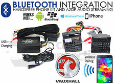 Vauxhall Astra Bluetooth streaming adapter handsfree calls CTAVXBT001 AUX iPhone