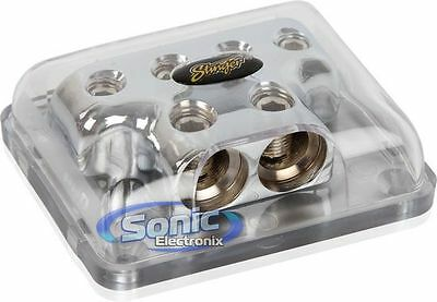 Stinger SPD513 Pro Series Power or Ground Distribution Block with ShocKrome Finish