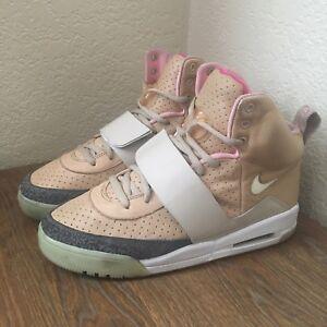 e4c86755e2fb1 2009 Nike Air Yeezy 1 Net Tan OG Rare Size 10.5 Authentic