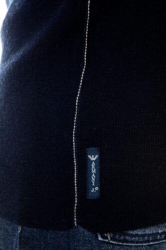 i A Armani Lana N6w46 Aj Uomo Sweater Jeans L8 Maglietta Maglia Pullover Blu YxqC0Zx1w