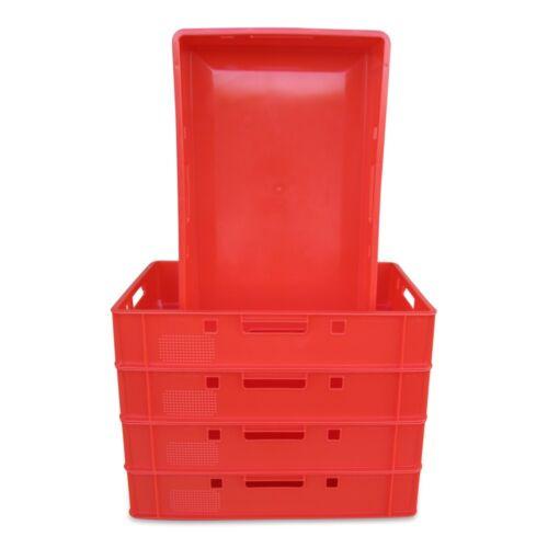 5 x Eurofleischkiste E1 NEU stapelbar Lagerkiste Metzgerkiste Kiste Box Behälter