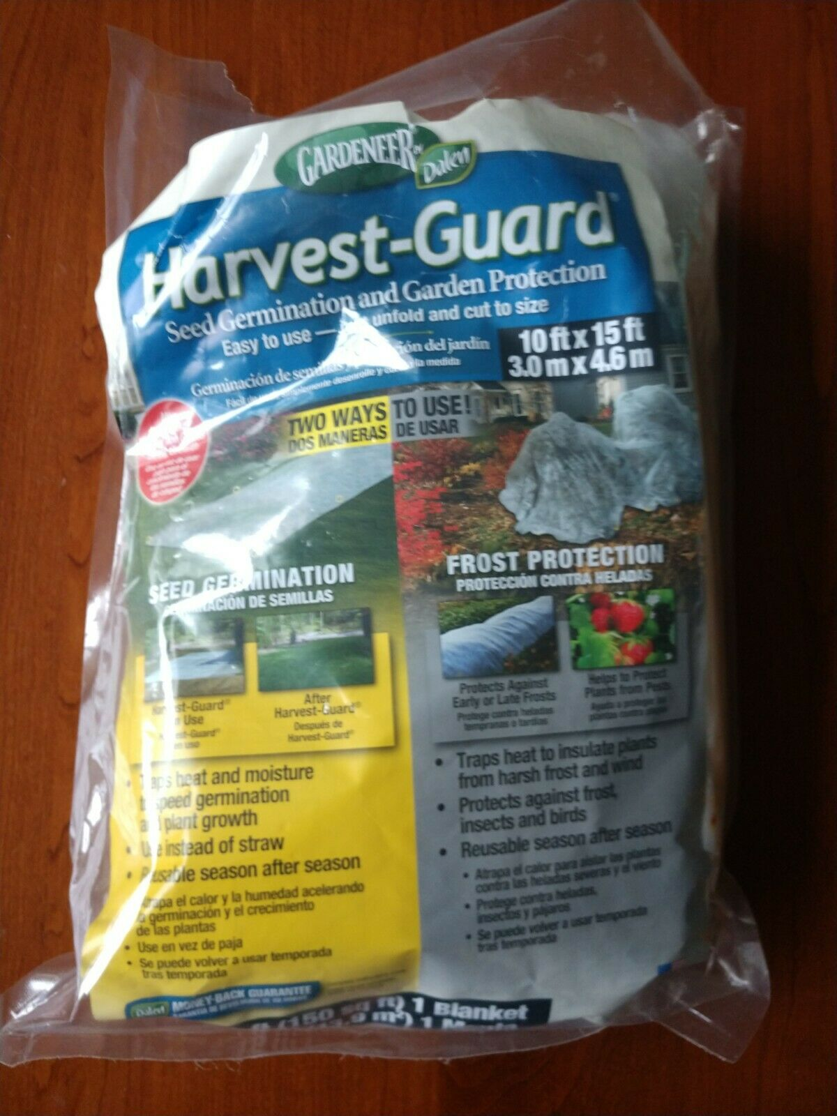 Harvest Guard Frost Protection Plant Cover- Partial Use/ Mostly Unused