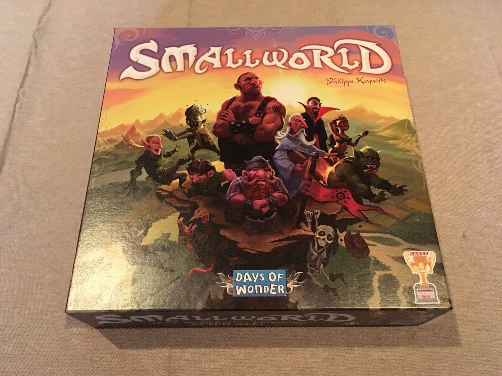 Small World Board Game  NEW First Edition 2009