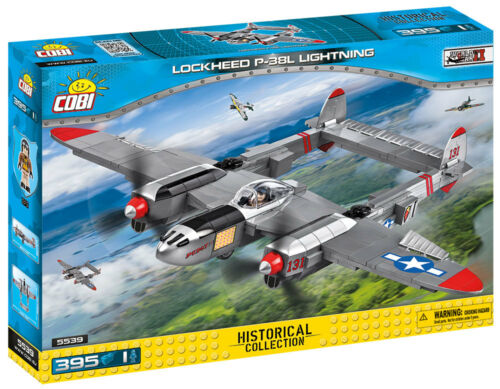 Small Army Neu WWII Lockheed P-38 Lightning Cobi 5539