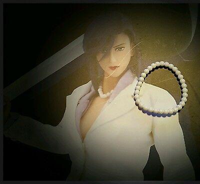 Hot Toys CMS03 City Hunter SAEKO NOGAMI Figure 1//6 PEARL-LIKE NECKLACE