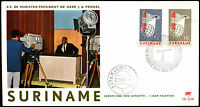 Suriname 1966, Television Service FDC First Day Cover #C35508