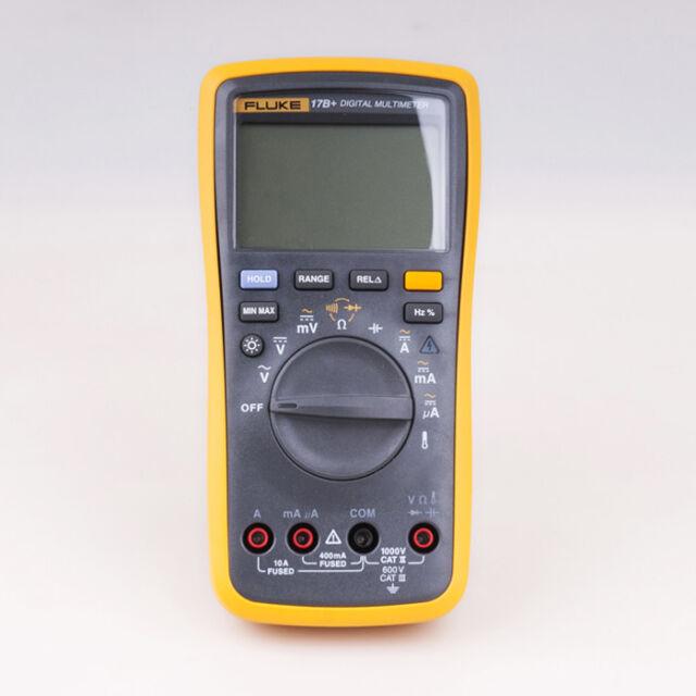 Fluke 17b Digital Multimeter Temperature Ms3302 Ac Transducer Clamp