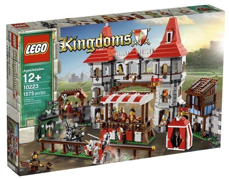 LEGO SAMMLER 10223 10223 10223 KÖNIGREICHE TURNIER DER KARUSSELL REAL NEU NEW 372ad1