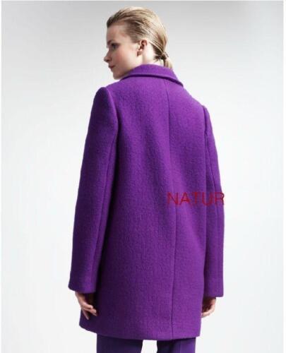 longueur Manteau Hiver mode Automne moyenne pour Nouvelle laine femmes en de yv8wnmN0O