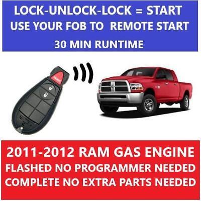 Flashlogic Add-On Remote Starter for Jeep Grand Cherokee 2012 Plug /& Play