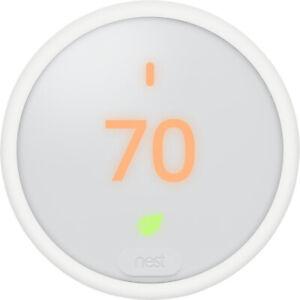Google Nest Thermostat E (White) T4000ES