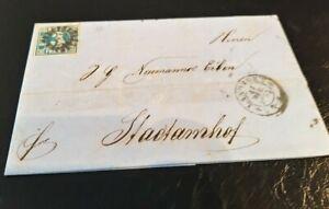 Bayern-Kreuzer-Brief-3-Kr-blau-2IIc-PF-gMR-034-175-034-Landshut-gt-Stadtamhof